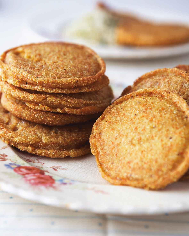Corn Griddle Breads Recipe