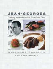 Buy the Cooking At Home with a Four-Star Chef cookbook