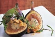 Figs Stuffed with Foie Gras Mousse