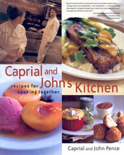Buy the Caprial and John's Kitchen cookbook