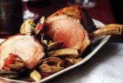 Portuguese-Style Pork Roast with Clams