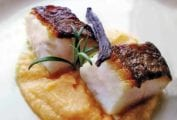 Rosemary Cod with Mashed Rutabaga