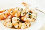 Pan-Fried Shrimp with Dill