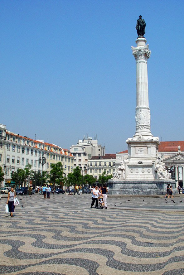 Rossio in Lisbon