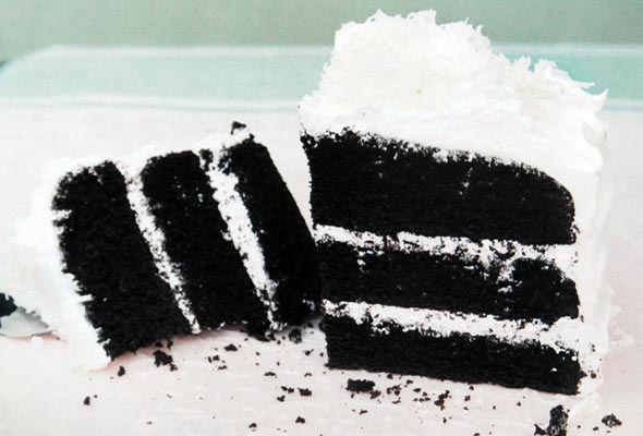 Devil S Food Cake With Seven Minute Frosting