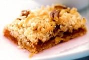 Apricot Cherry Coconut Bar