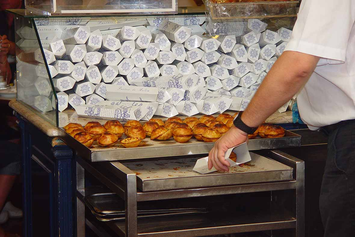 Pasteis de Nata Ready to Sell