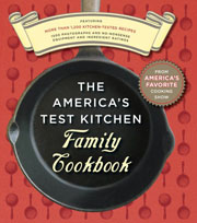Buy the America's Test Kitchen Family Cookbook  cookbook