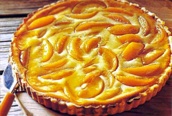 Peach Cream Tart Recipe Leite S Culinaria