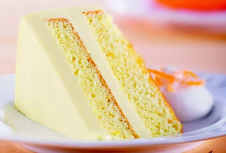 Orange and Cream Cake