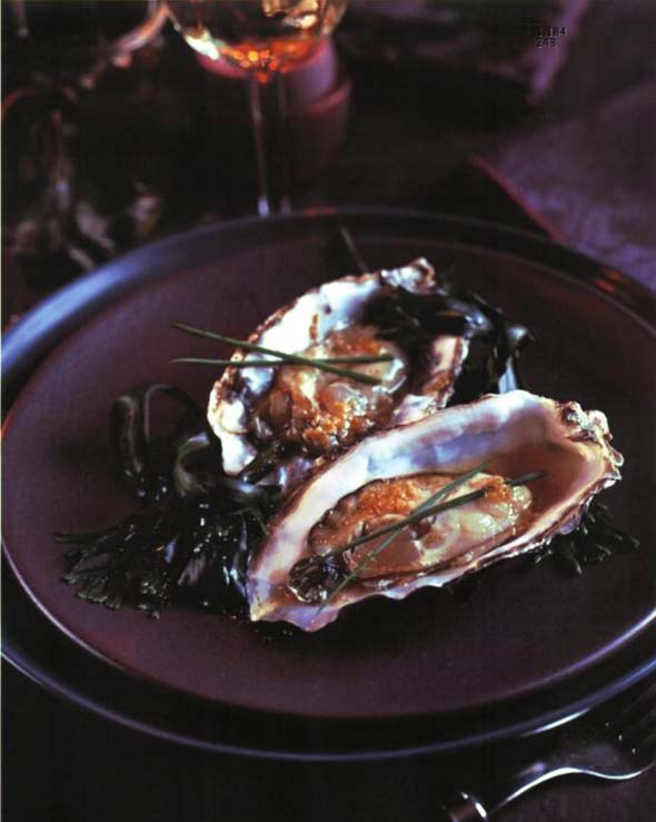 Pacific Oysters with Asian Vinaigrette