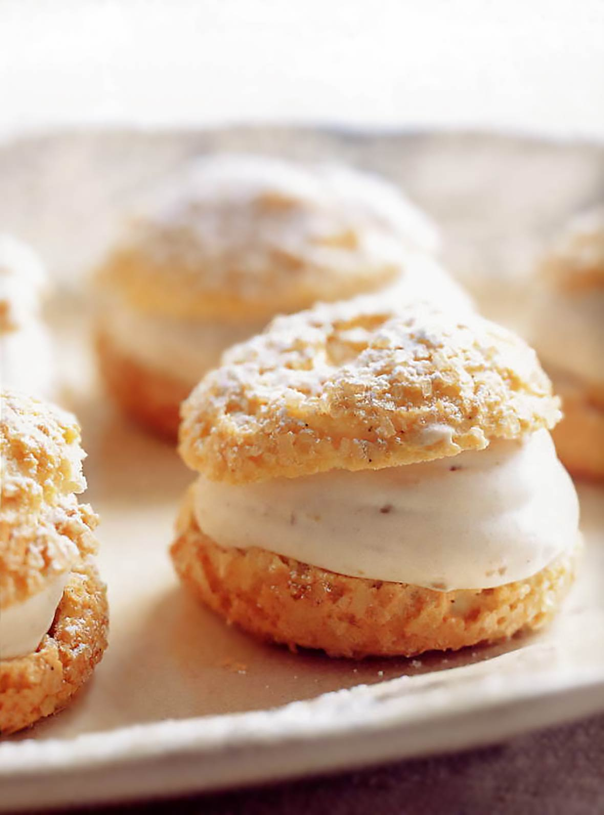 Saint Joseph's Day Cream Puffs