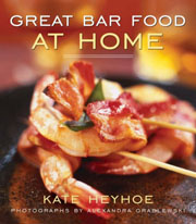 Buy the Great Bar Food at Home cookbook