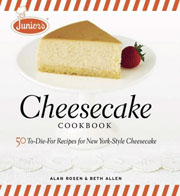 Buy the Junior's Cheesecake Cookbook cookbook