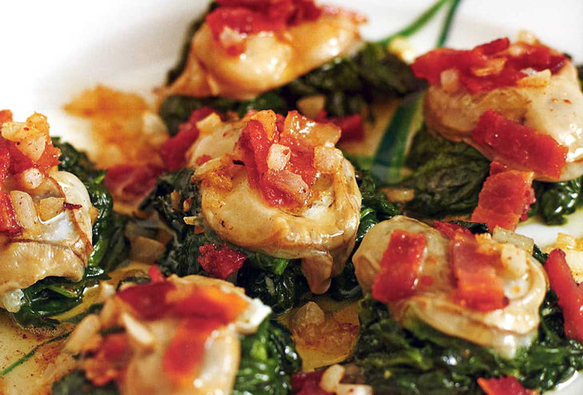 Jacques Pepin Oysters Rockefeller