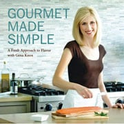 Buy the Gourmet Made Simple cookbook