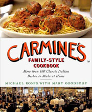 Buy the Carmine's Family Style Cookbook cookbook