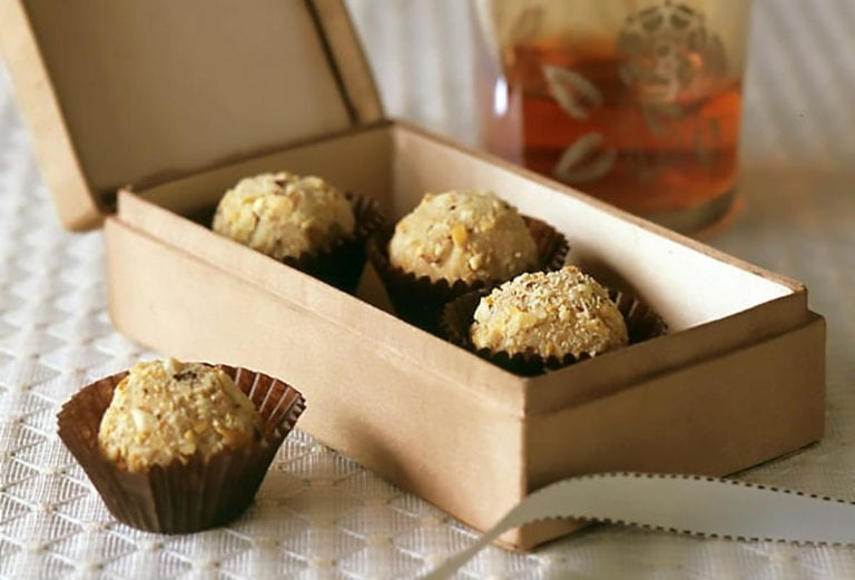 Mocha-Hazelnut Truffles