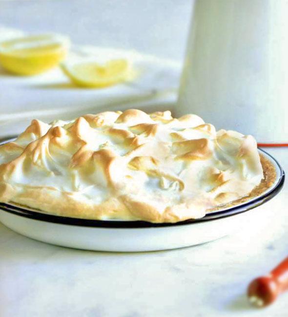 Frozen Lemon Meringue Pie