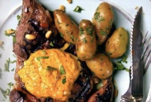 Ribeye Steaks with Fingerling Potatoes