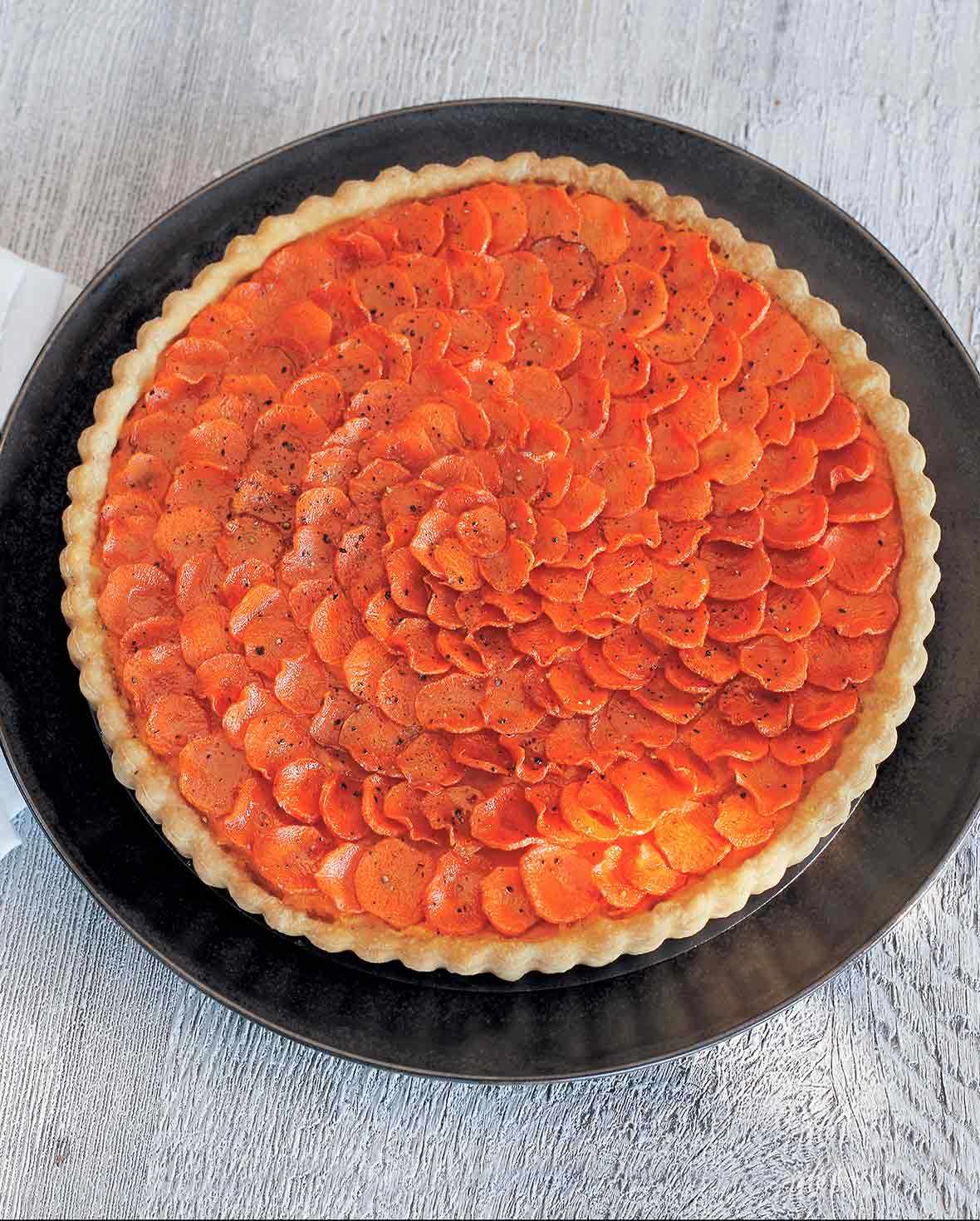 Carrot Crostata