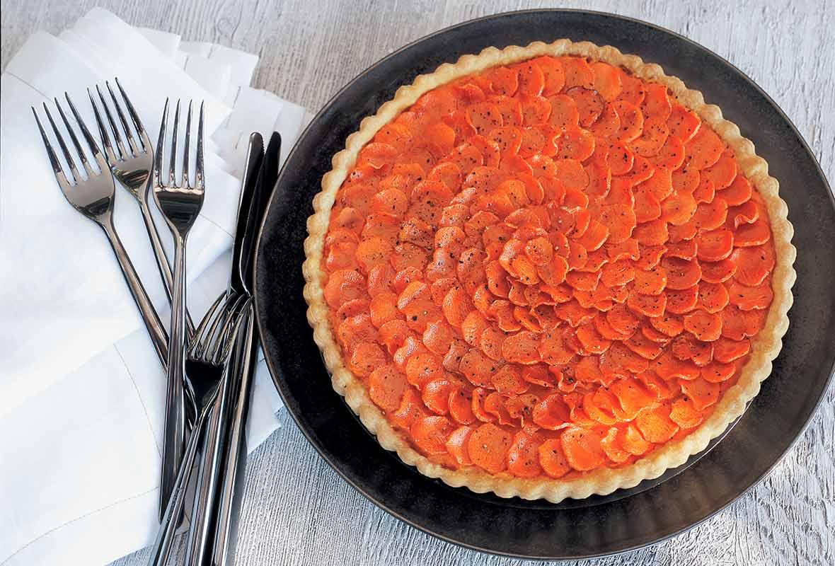 Carrot Crostata