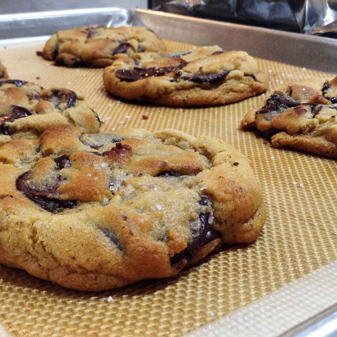 David Leite's Chocolate Chip Cookies Recipe