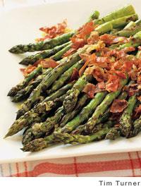 Asparagus-Prosciutto with Lemon Vinaigrette