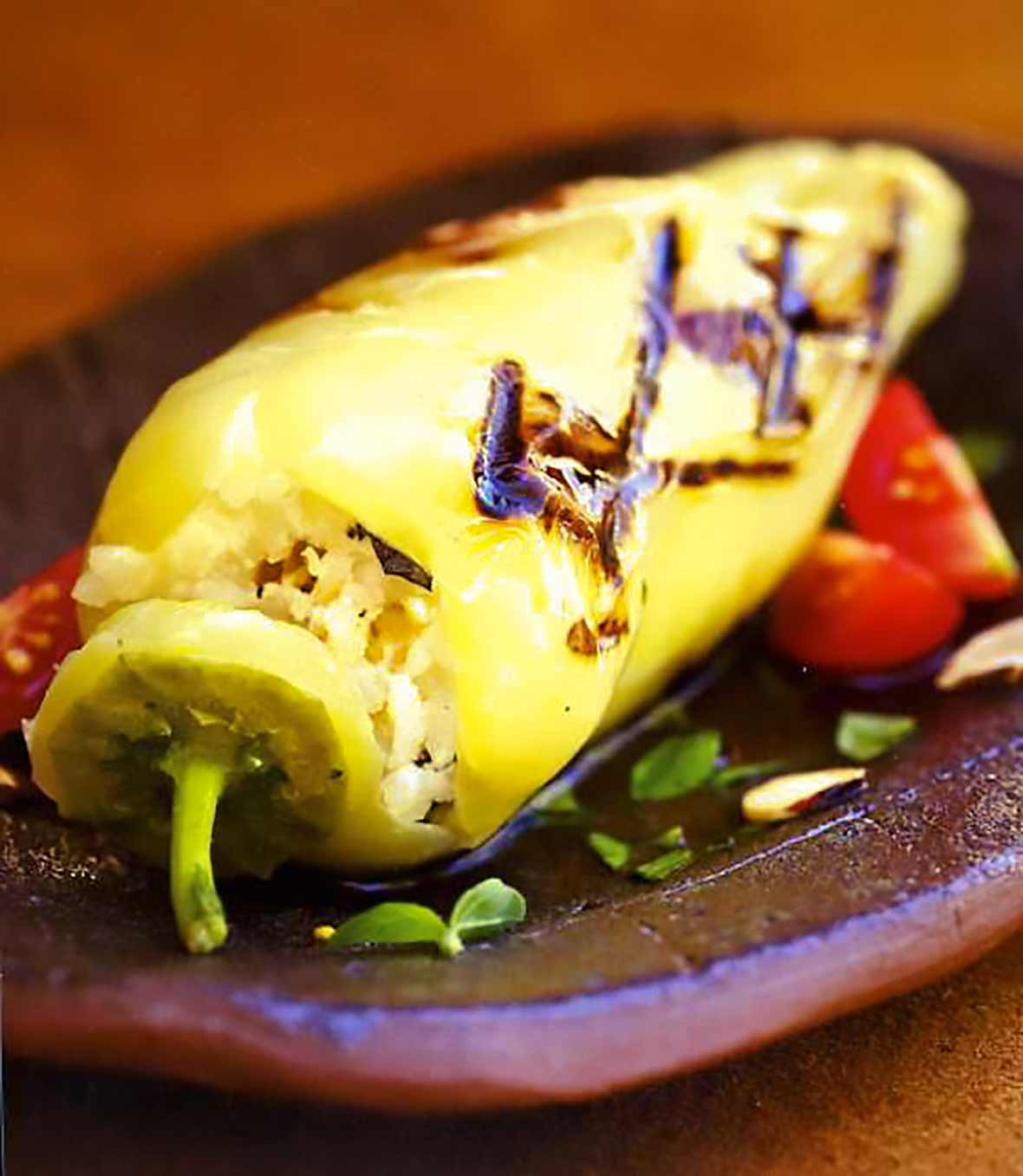 Cheese-Stuffed Gypsy Peppers