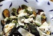Zucchini with Ricotta, Mint, and Basil