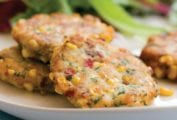 Corn and Cod Cakes