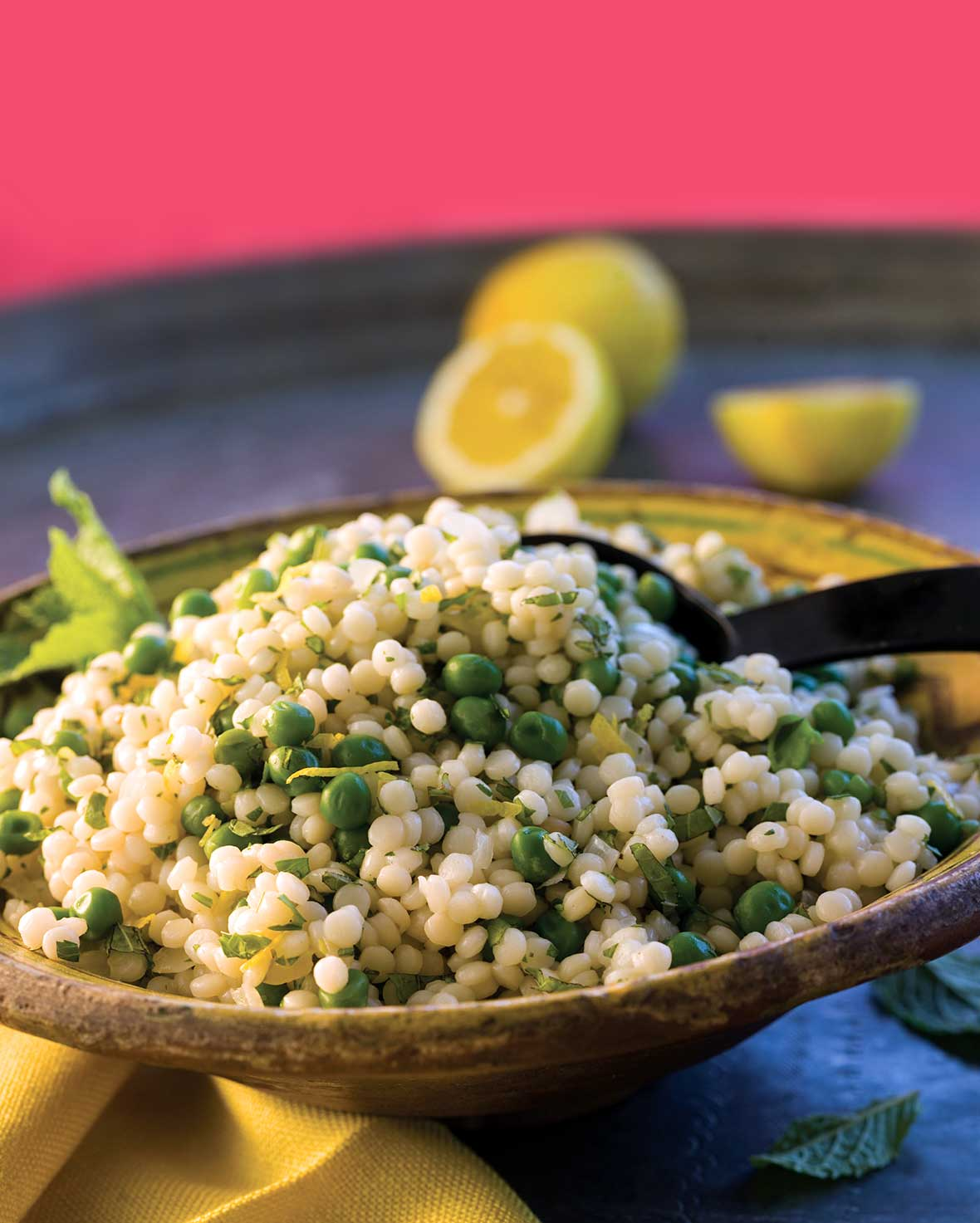 Lemon Israeli Couscous