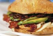 Turkey, Bacon, Onion Marmalade Sandwich