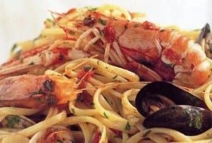 Linguine with Mixed Seafood