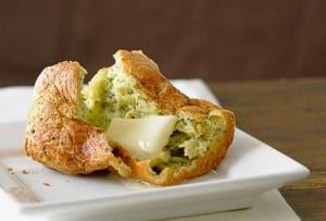 Hazelnut and Fresh Herb Popovers