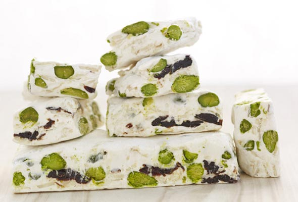 Nut and Cherry Nougat
