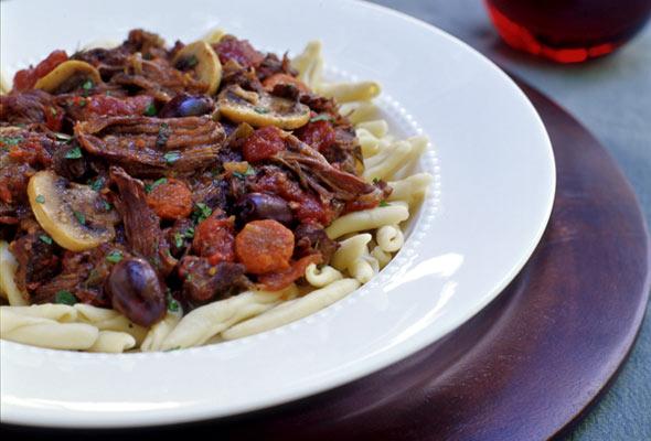 Paula Wolfert's Beef Dauble