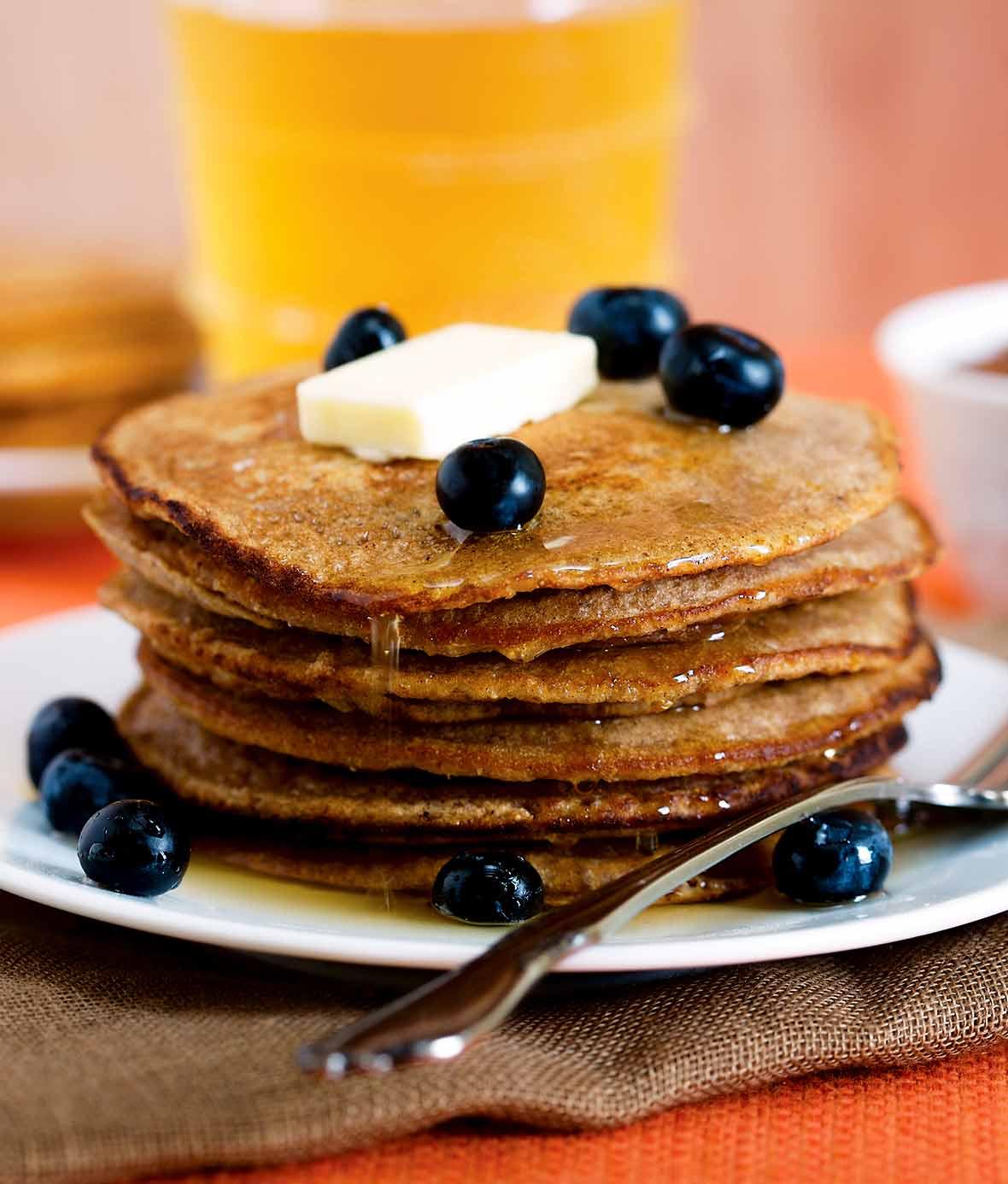 Gingerbread Pancakes