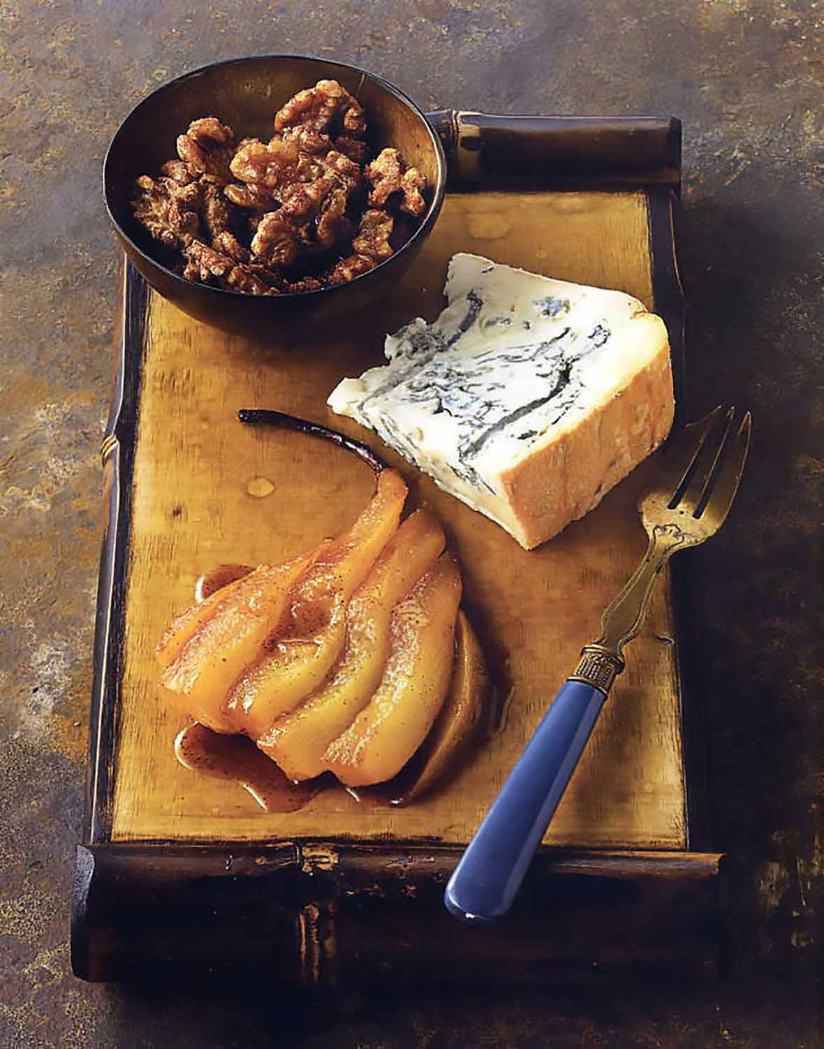 Gorgonzola Dolce with Roasted Pears