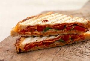 Grilled Cheddar Cheese Sandwich