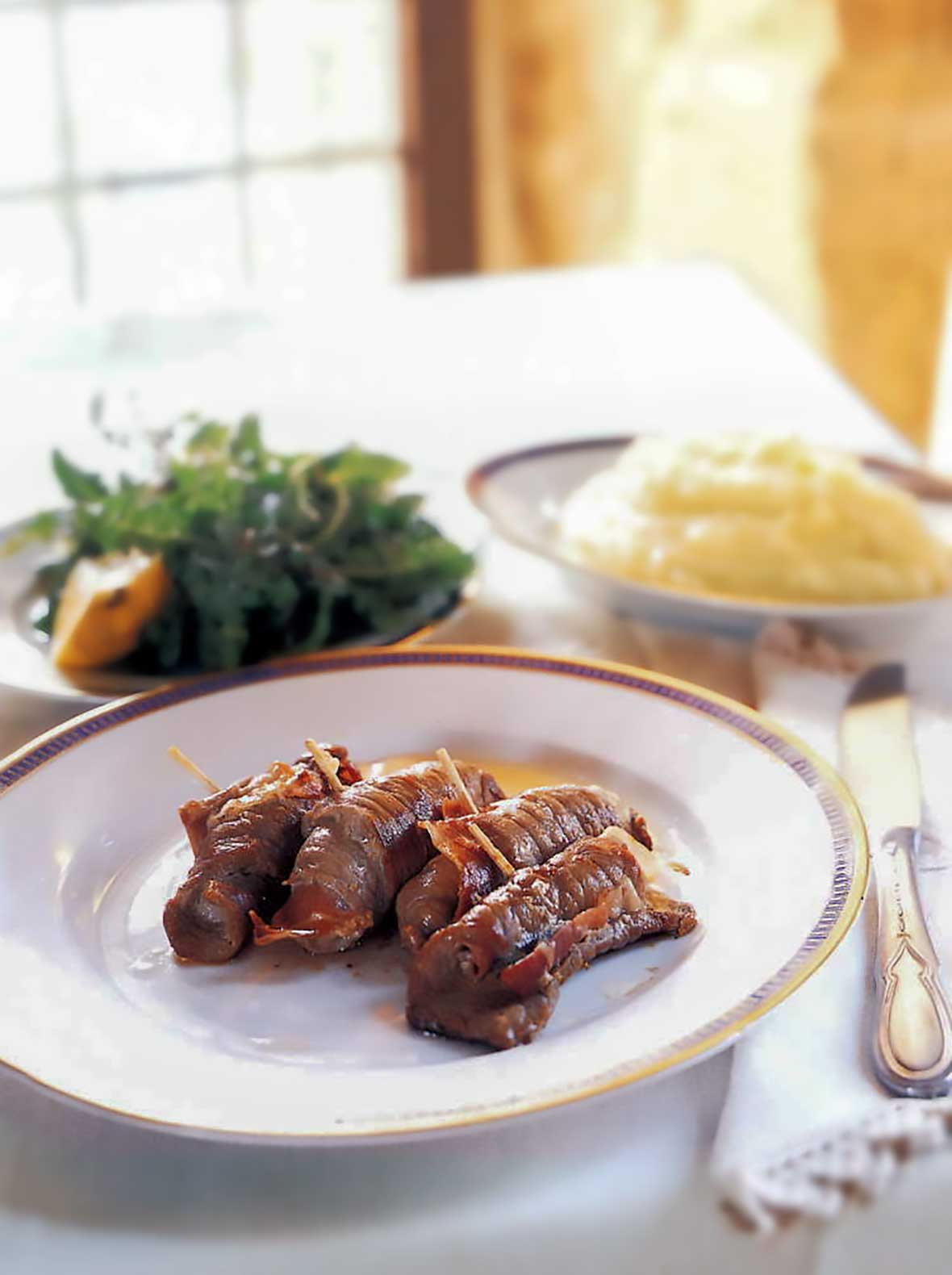 Sauteed Veal Cutlets | Saltimbocca