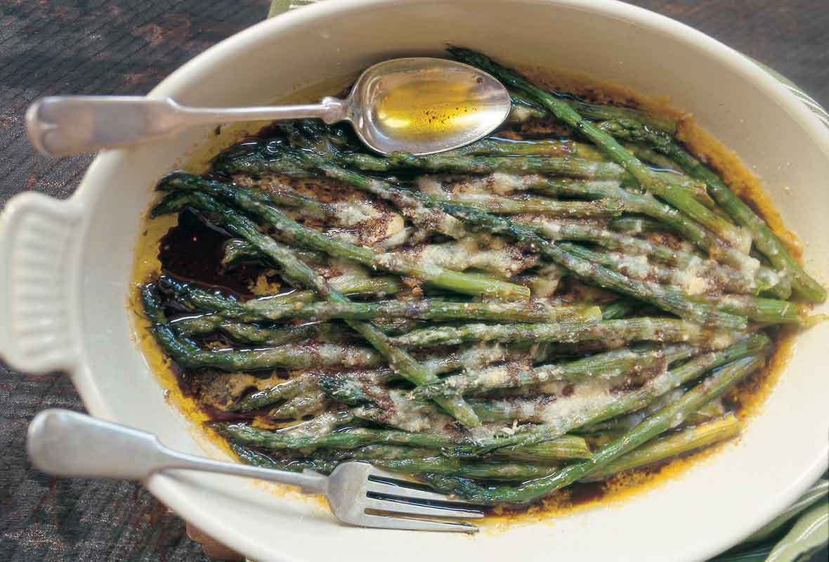 how to prepare asparagus in the oven