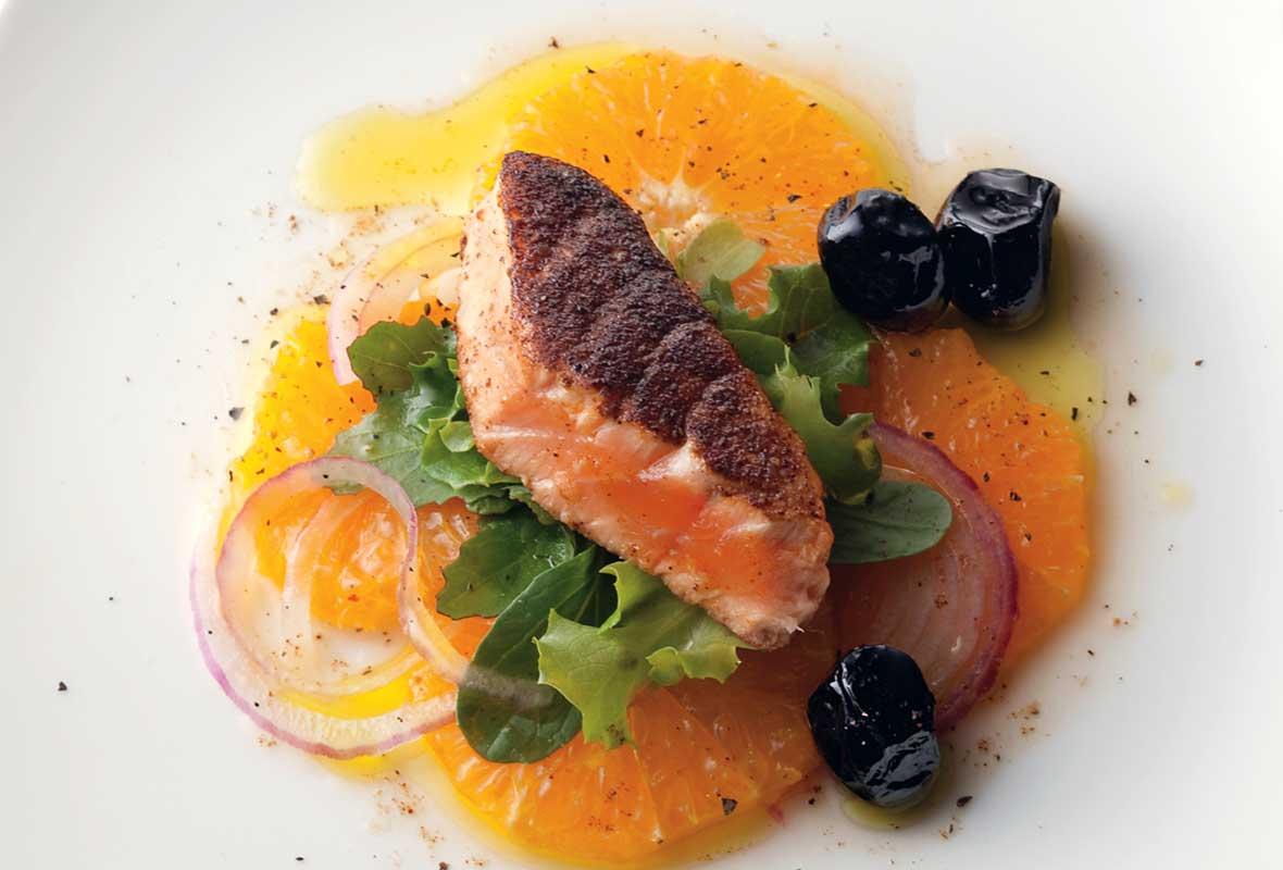 Pan-Seared Moroccan Salmon Recipe | Leite's Culinaria