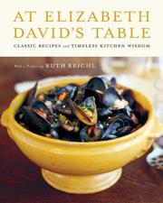Buy the At Elizabeth David's Table cookbook