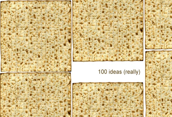 100 Uses for Matzoh