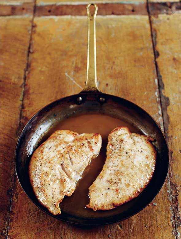 Turkey Breasts with Marsala