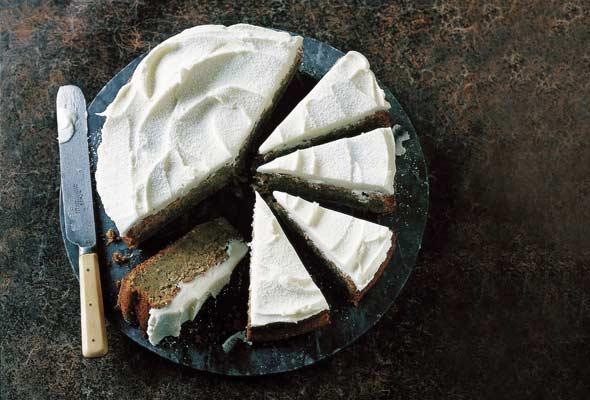 Lemon Zucchini and Poppyseed Cake