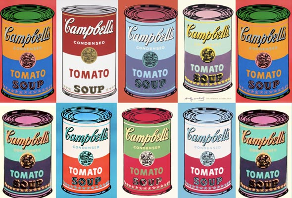 Tomato Soup Cans