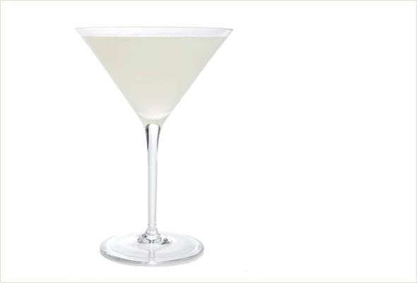 A foolproof daiquiri in a long-stemmed glass.