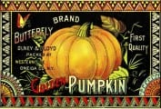 Pumpkin Label